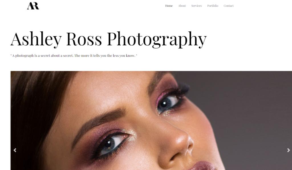 Astra WordPress portfolio theme