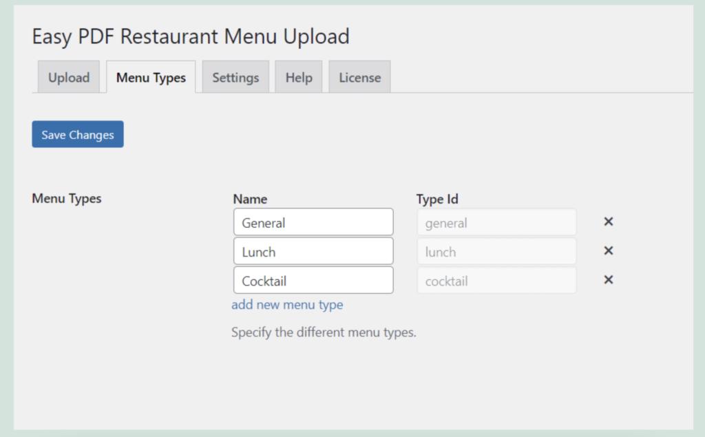 Easy Restaurant Menu Upload- WordPress restaurant menu plugin