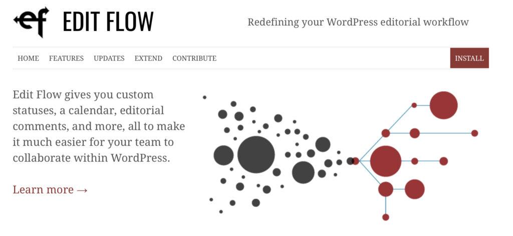 Edit Flow multi-author blog plugin