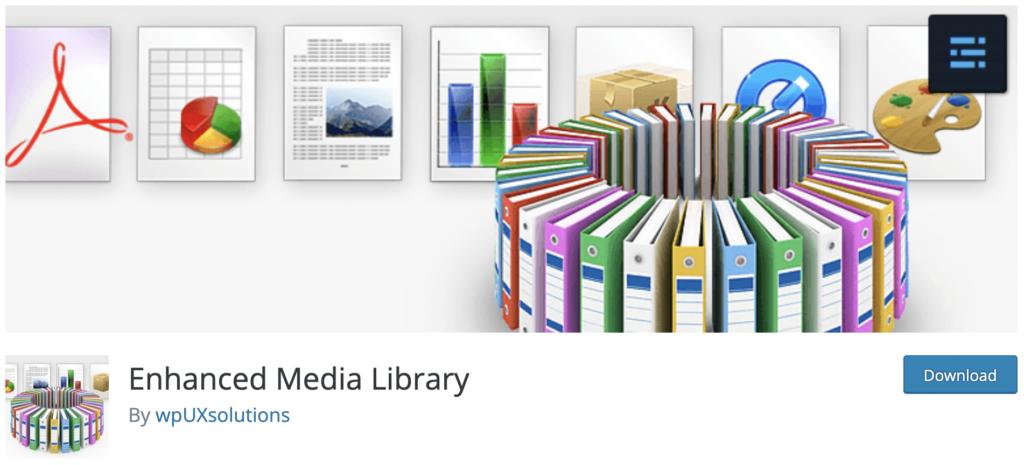Enhanced Media Library WordPress media library plugin