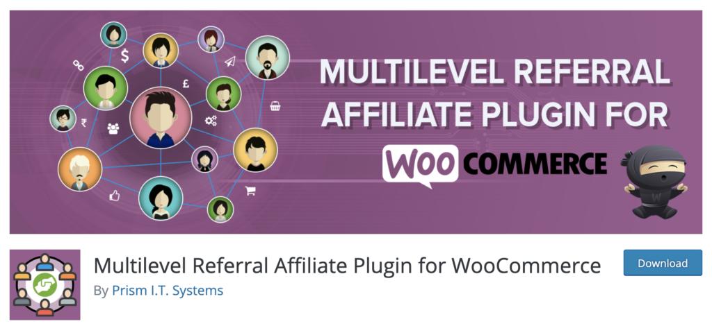 WooCommerce Multi-Level Referral Affiliate Plugin