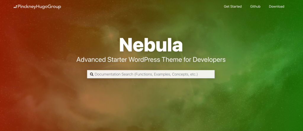 Nebula  blank WordPress theme