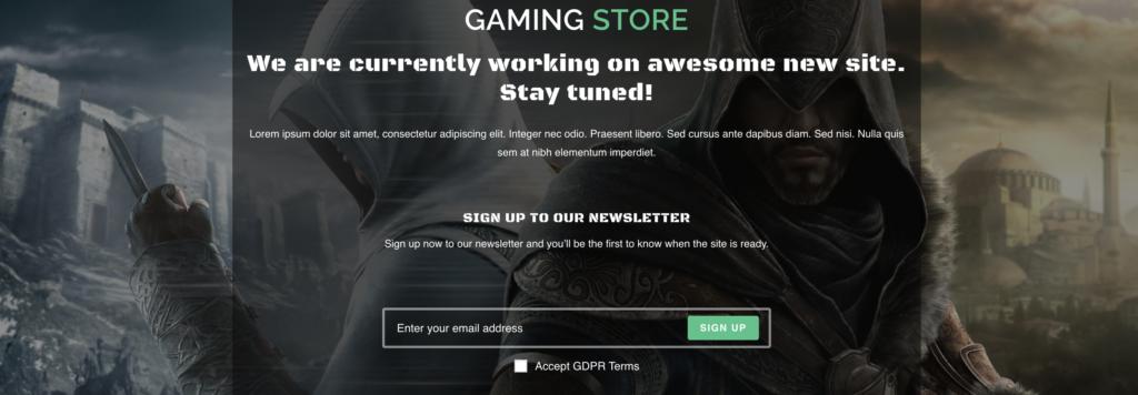 OceanWP WordPress gaming theme