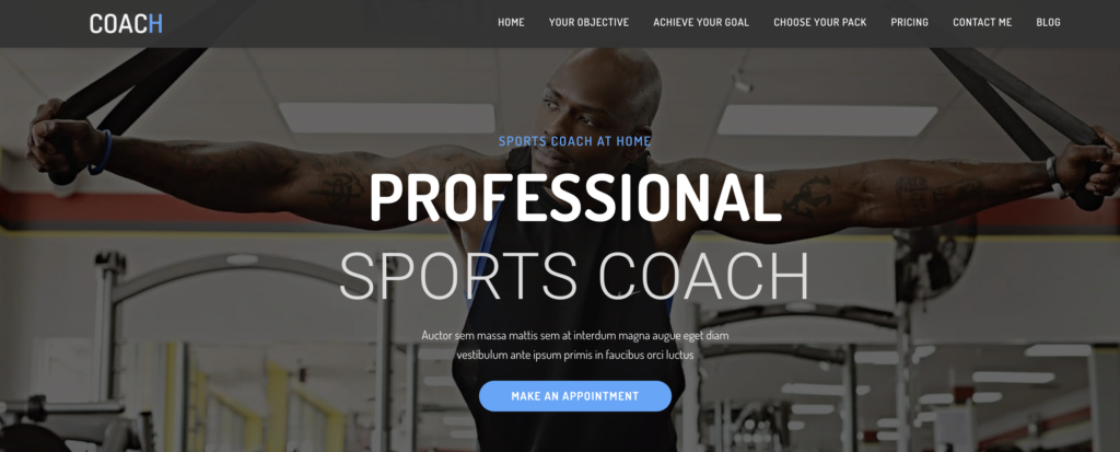 OceanWP wordpress sport themes