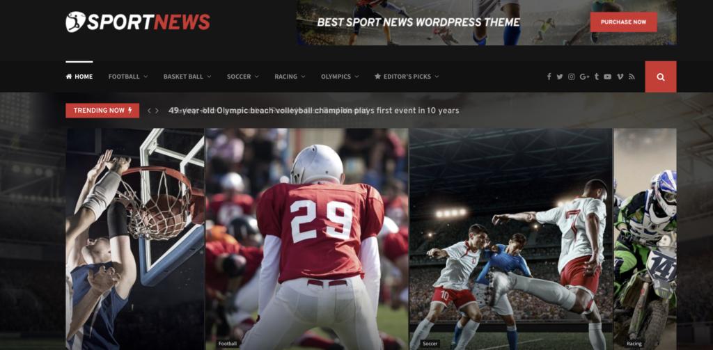 PenNews wordpress sport themes