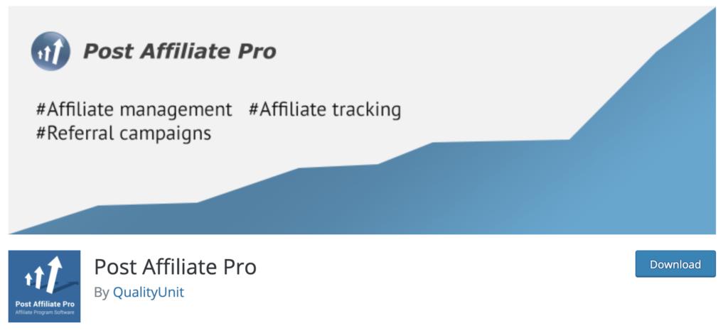 Post Affiliate Pro - WooCommerce affiliate plugin