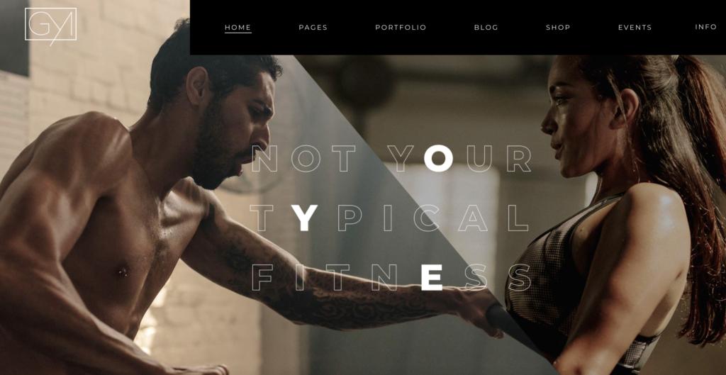 PowerLift wordpress sport themes