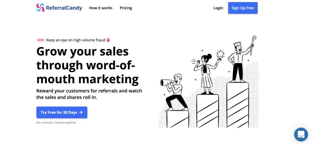 Referral Candy WooCommerce affiliate plugin