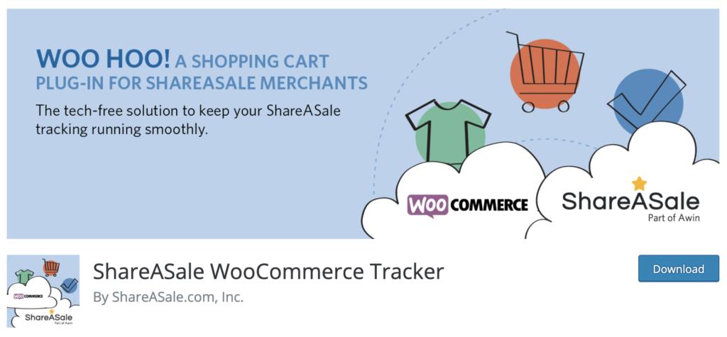ShareASale WooCommerce Tracker - WooCommerce affiliate plugin