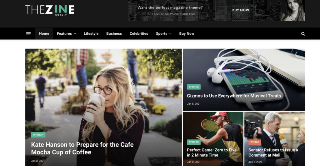 SmartMAG WordPress review themes