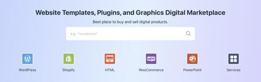 sell WordPress themes on TemplateMonster