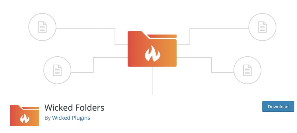 Wicked Folders WordPress media library plugin
