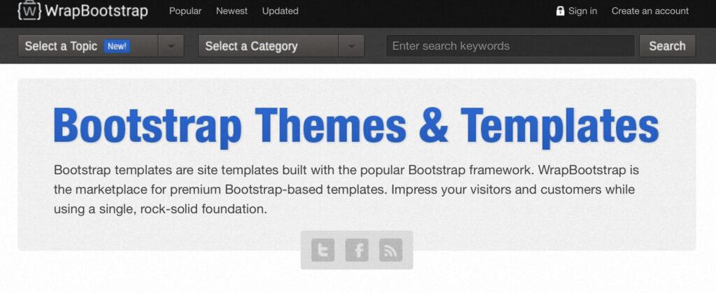sell wordpress themes on WrapBootstrap