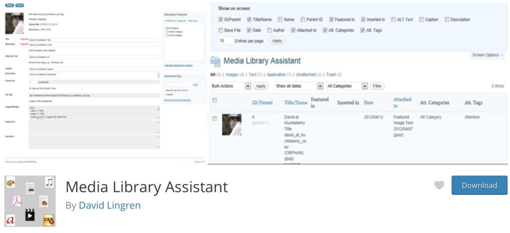 Media Library Assistant WordPress media library plugin