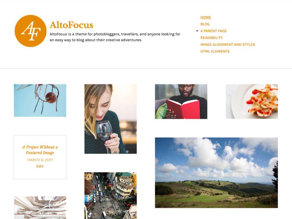 AltoFocus automattic themes