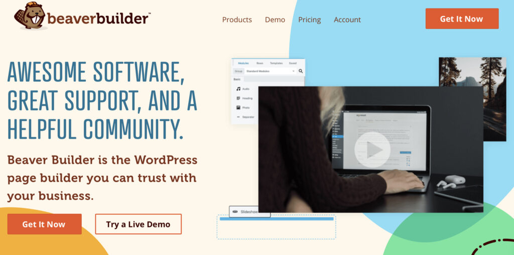 how to create a landing page on WordPress using Beaver Builder