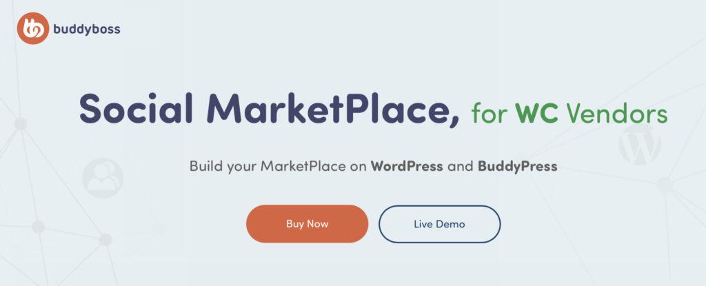 Social Marketplace by BuddyBoss