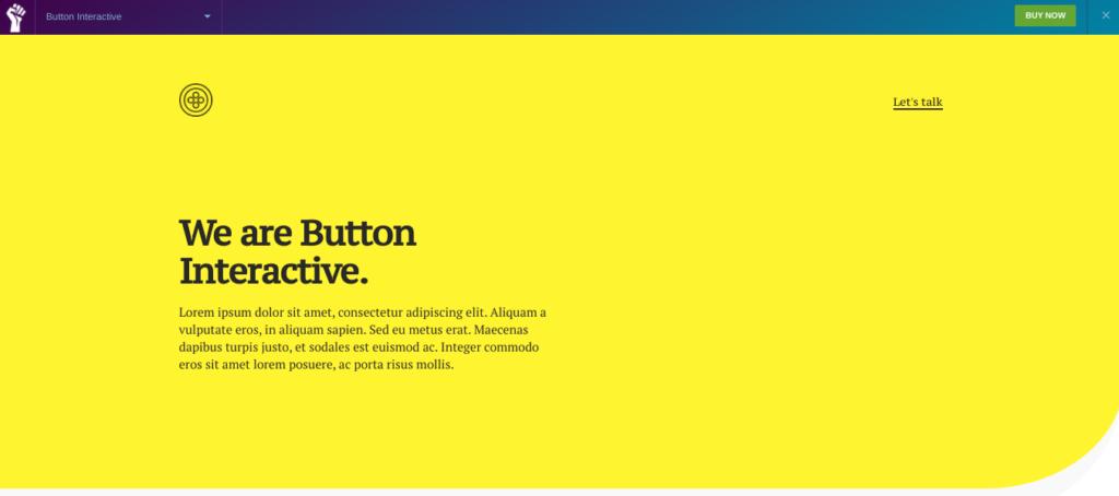 Button Interactive elementor template