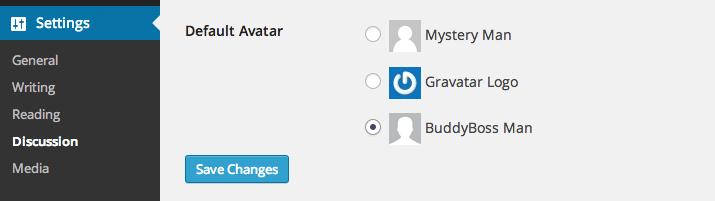 Default avatar - social marketplace