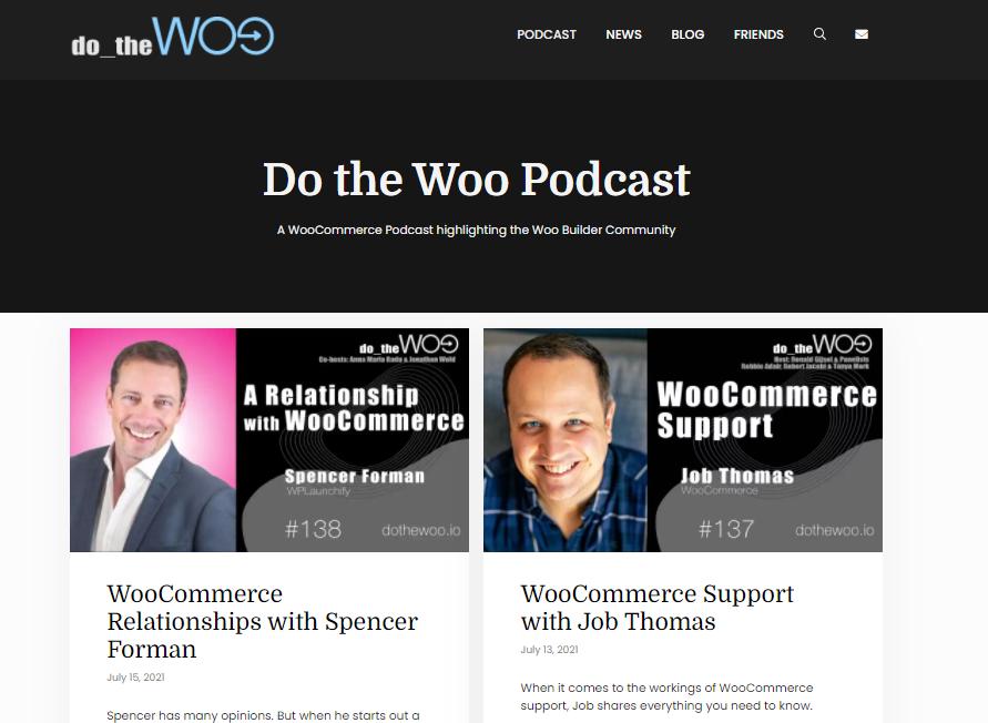 Do the Woo WordPress podcast