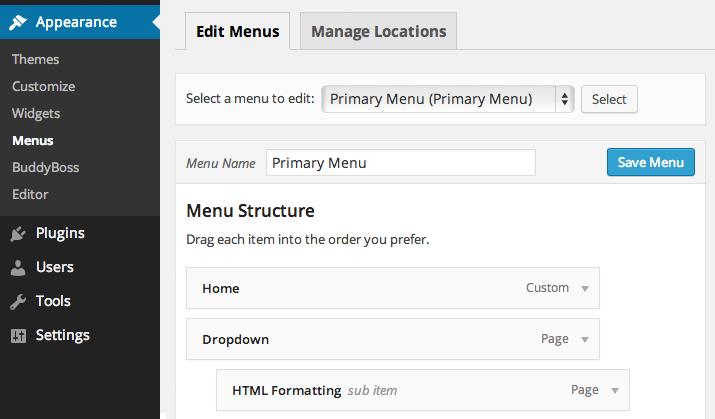 Basic Setup of BuddyPress social marketplace