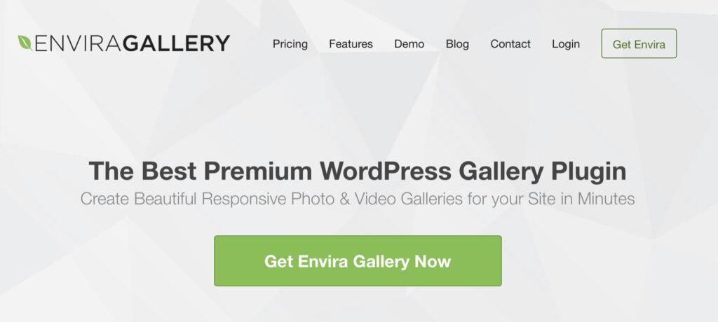 Envira Gallery wordpress portfolio plugin
