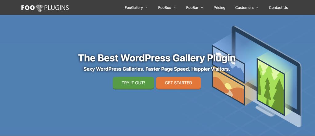 FooGallery wordpress portfolio plugins