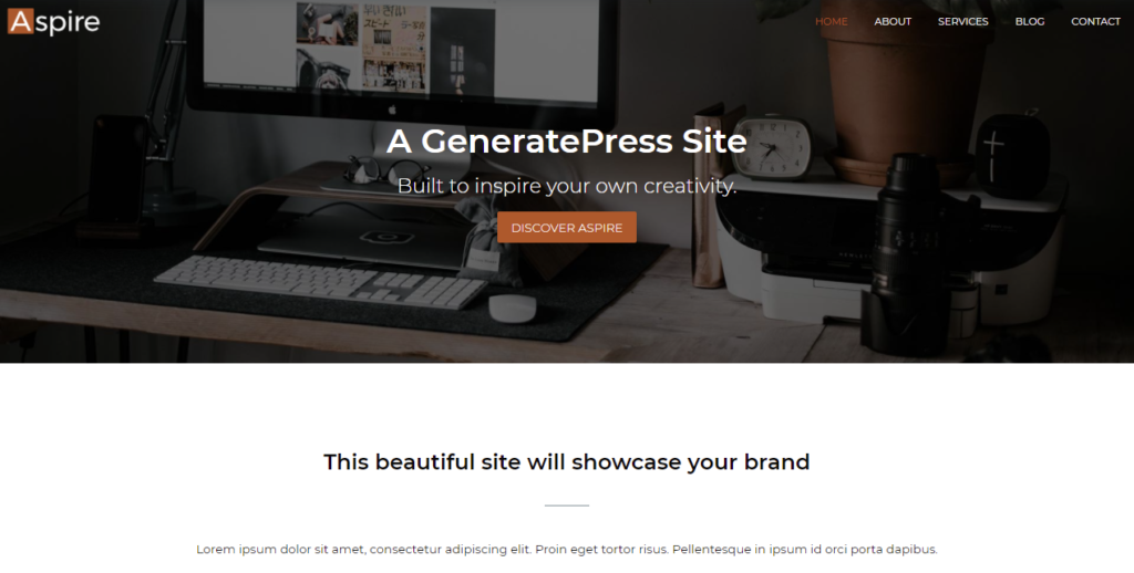 GeneratePress mobile friendly wordpress theme