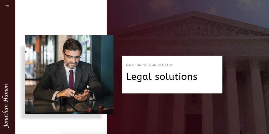 Lawyer elementor templates