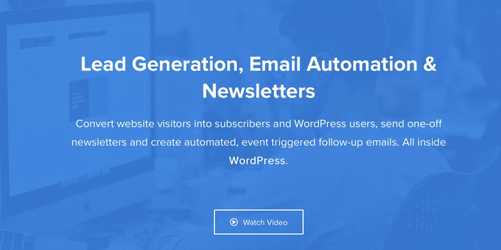 MailOptin wordpress announcement plugin