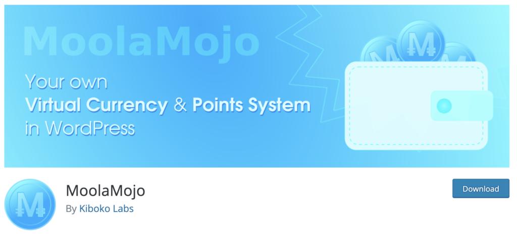 Moola Mojo wordpress gamification
