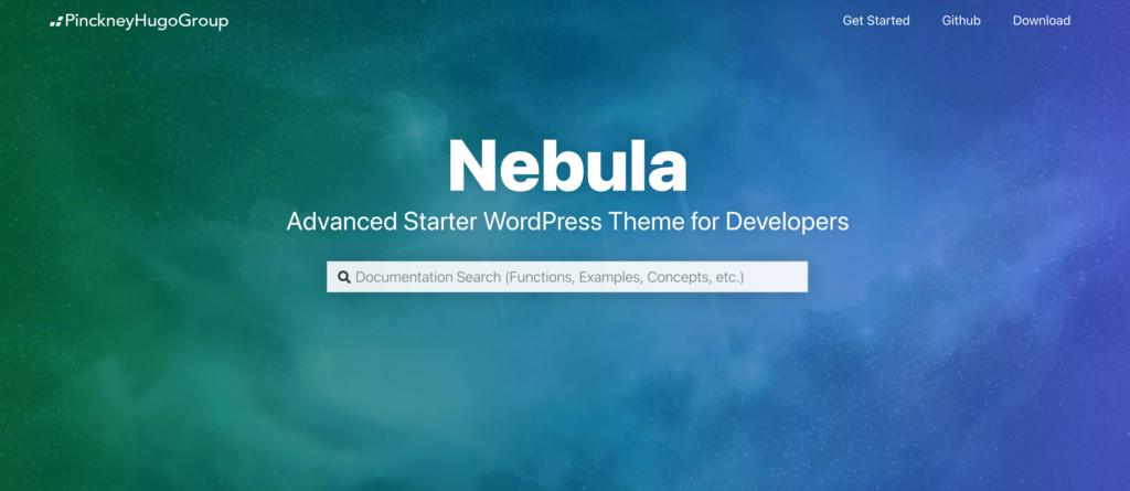 Nebula WordPress theme for programmers