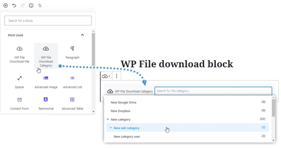 WP File Download - Offering the Download Option for Files