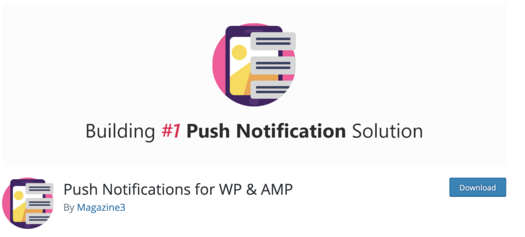 Push Notifications WordPress push notification