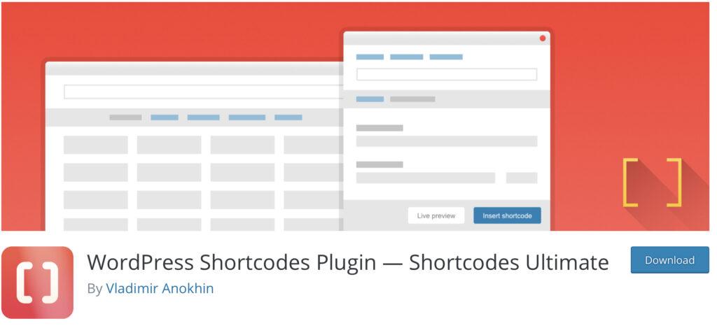 create shortcode WordPress using Shortcode Ultimate