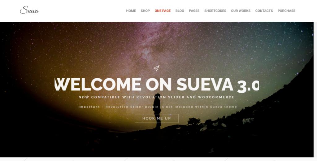 Sueva WordPress tumblr theme