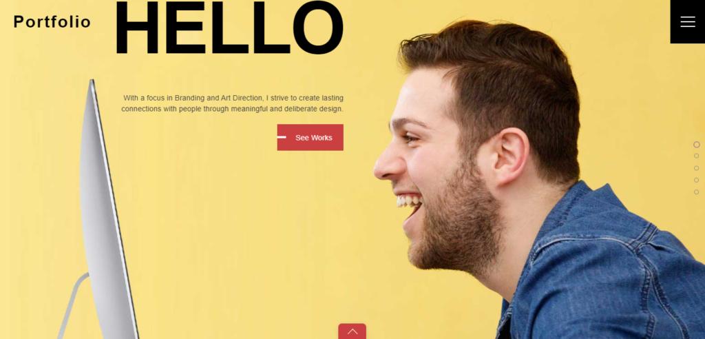Ultra WordPress resume theme