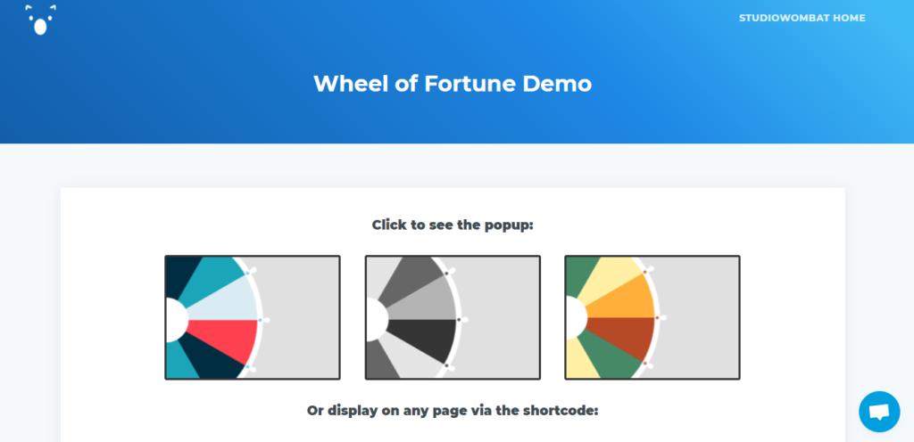 WP Optin Wheel wordpress gamification plugin