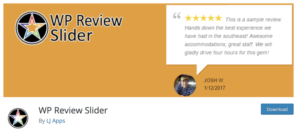 WP Review Slider - wordpress review plugin