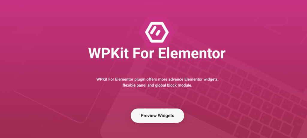 WPKit elementor template