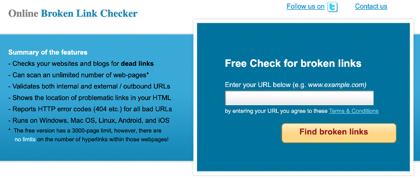 WordPress tips - Regularly check broken links