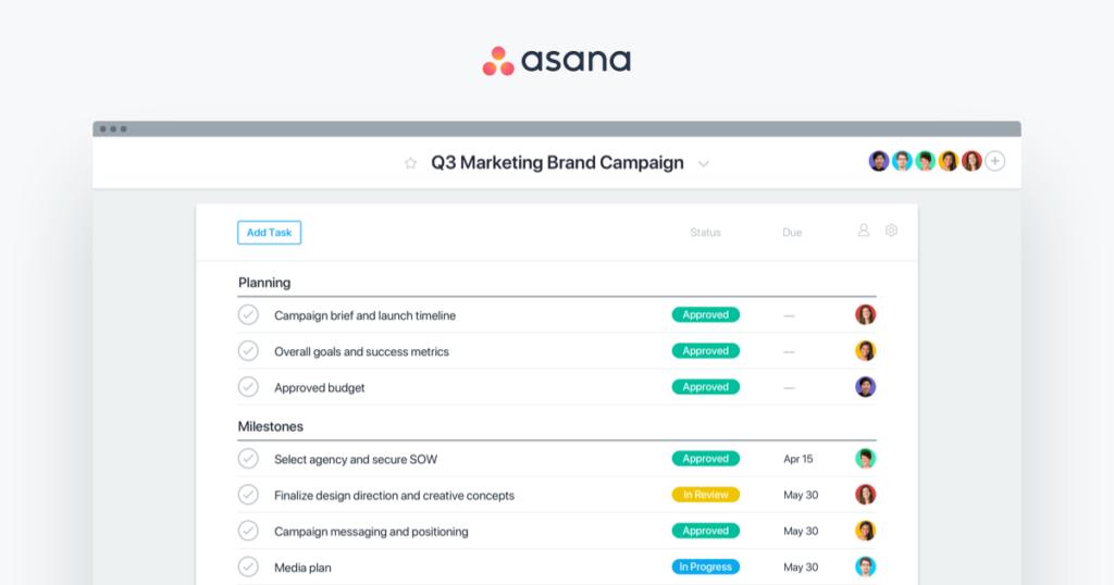 Asana blogger app for android