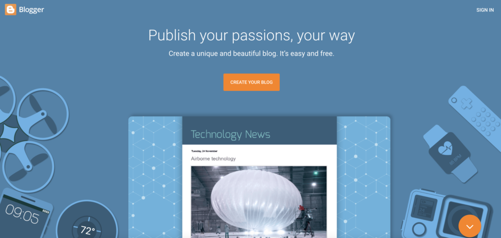 Blogger  blogger app for android