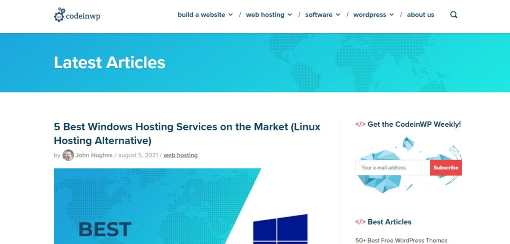 top wordpress blogs to read - CodeInWP