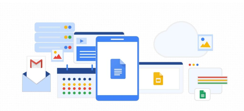 Google Docs blogger app for android