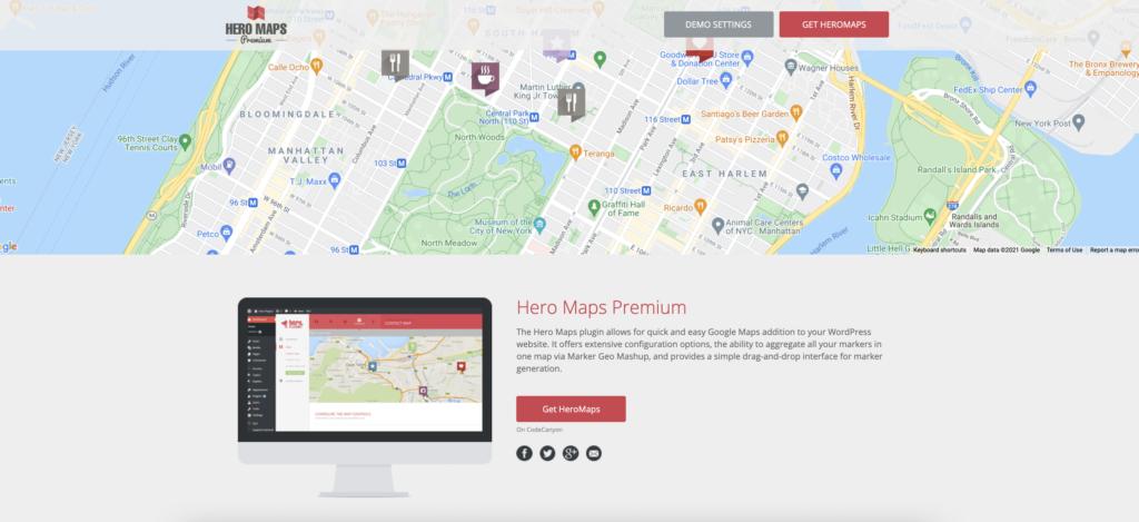 Hero Maps Premium WordPress mapping plugin