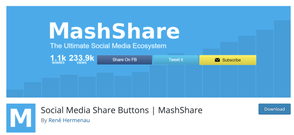 MashShare WordPress social sharing plugin