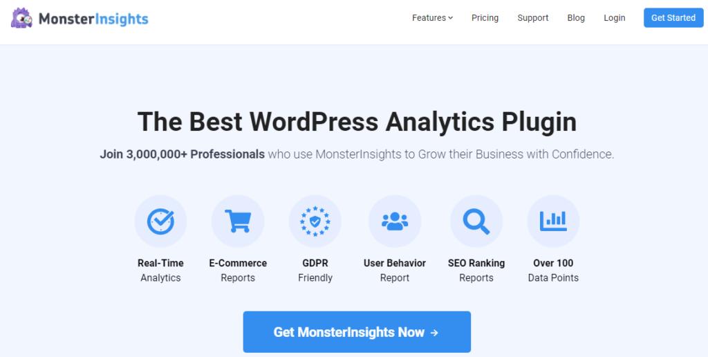 MonsterInsights WordPress popular posts