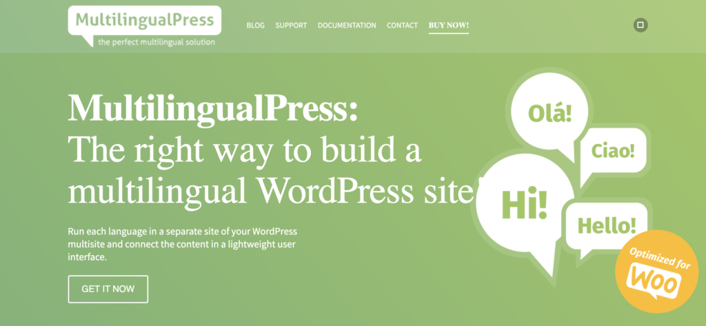 MultilingualPress WordPress translation plugin