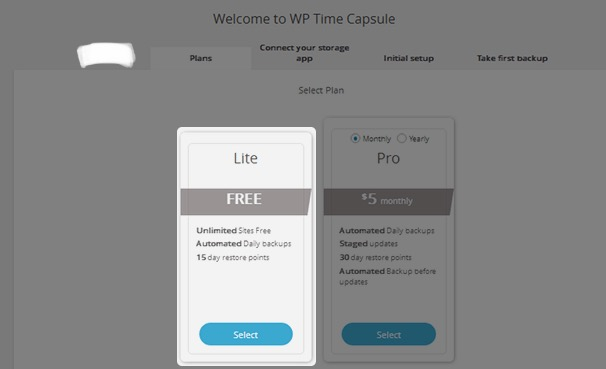 WP Time Capsule - plans